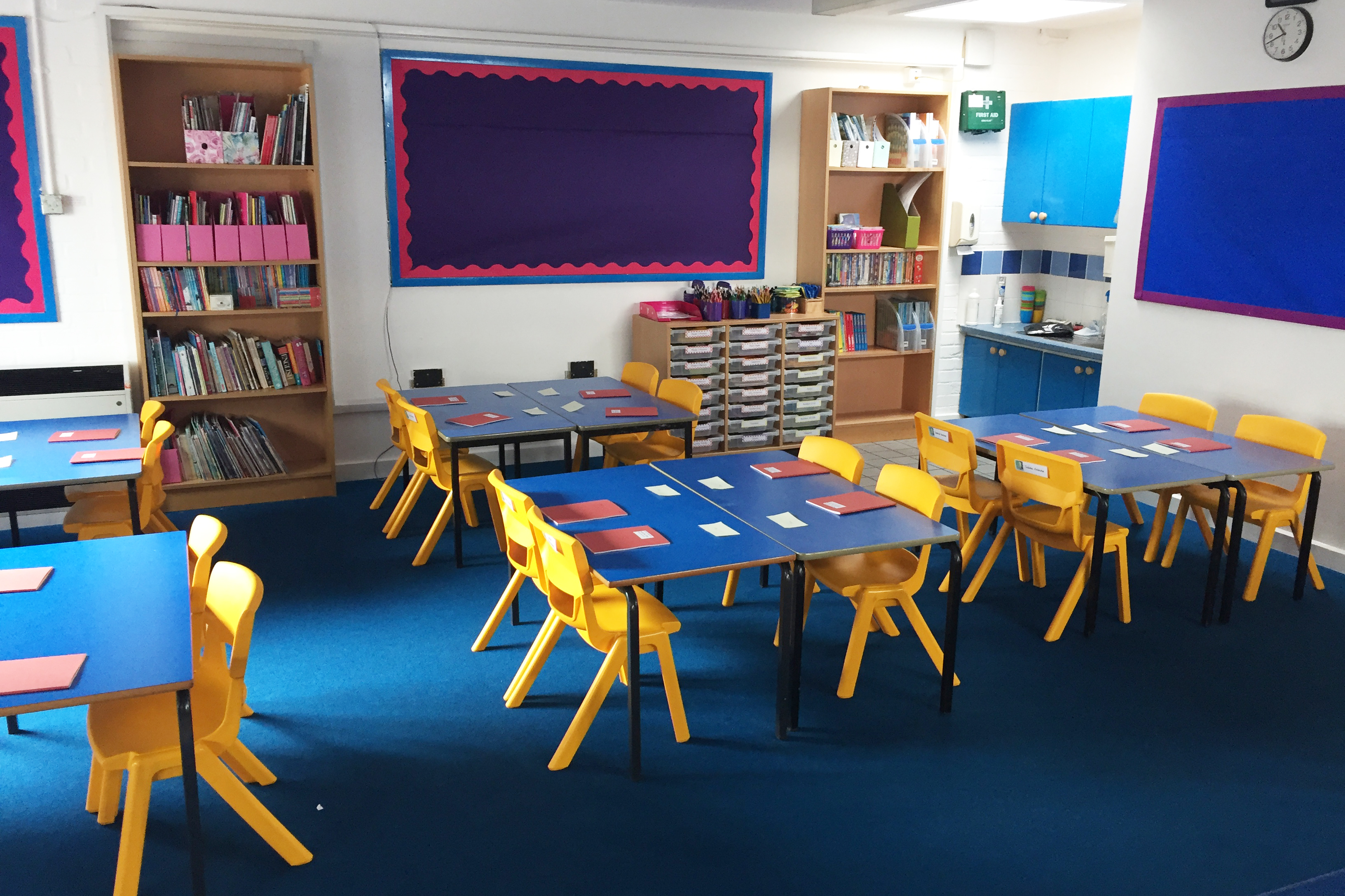 Interior fit-out, education